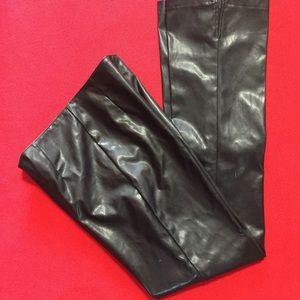 Soft Supple Faux Leather Formula X Pants 7/8